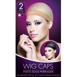 Wig Caps 2 Filets Sous Perruque