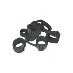 4 Cuff U Set Menottes Velcro