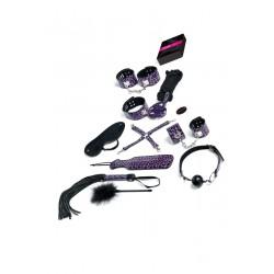 Jeu Master And Slave Purple Premium Kit Bdsm