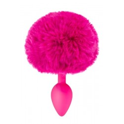 Plug Fushia Queue de Lapin
