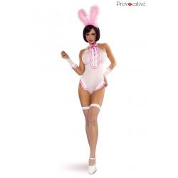 Body Bunny Costume lapin coquin 4 pcs