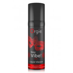 Sexy Vibe HOT Liquid Vibrator Gel excitation chauffant Fraise