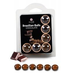 Boules Brésiliennes aromatisées Chocolat X6