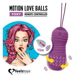 Oeuf Vibrant Motion Love Balls FOXY
