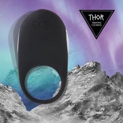 Thor Cockring anneau vibrant noir