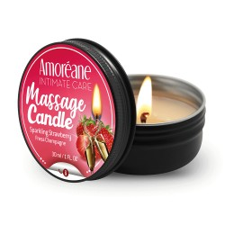 Bougie Massage Candle Fraise hydratante