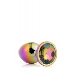 Gleaming Love Bijou Plug irisé multicolore 21781 Taille S