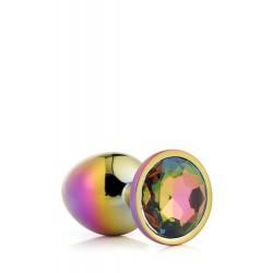 Gleaming Love Bijou Plug irisé multicolore 21782 Taille M