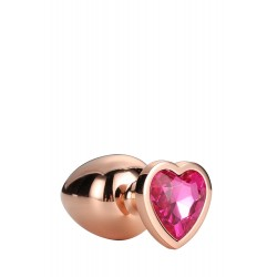 Gleaming Love Coeur Bijou Plug gold 21789 Taille M
