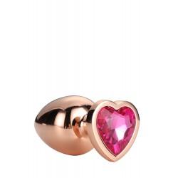 Gleaming Love Coeur Bijou Plug gold 21791 Taille L