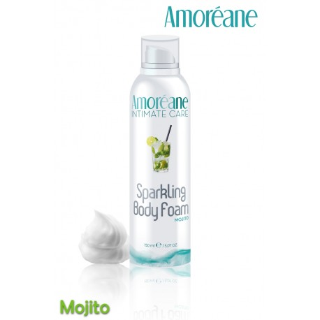 Sparkling Body Mousse crépitante massage Mojito
