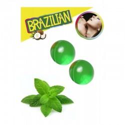 Boules Brésiliennes Aromatisées Menthe